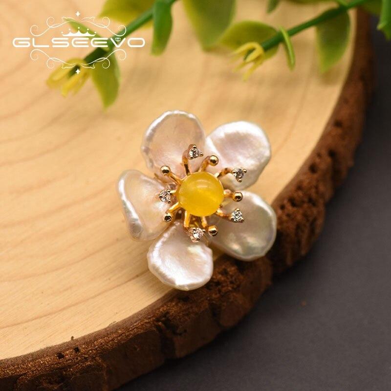 Купить glseevo 100% натуральный барокко белый жемчуг высокое качество