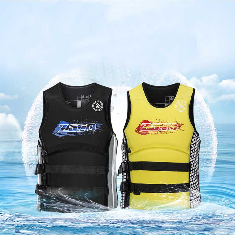 Adult kids Life Vest Jacket Swimming Boating Ski Drifting Life Vest with Whistle XS-4XL Sizes Water Sports Man Jacket