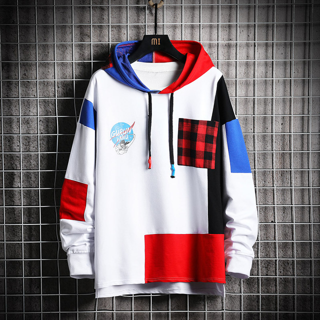 Dragon Ball Streetwear Clothing Sweatshirt Men Hip Hop White Hoodie