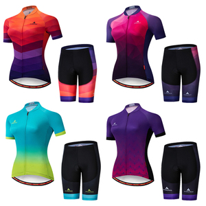 2020 MILOTO Pro Team Cycling Suit Set Ropa Ciclismo Mujer Mountain Jerseys Riding Women's Road Bike Uniforme Summer NW