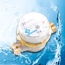Measuring-Instruments Combination-Pointer-Cold-Water-Meter Flow Display Mechanical-Rotary-Wing