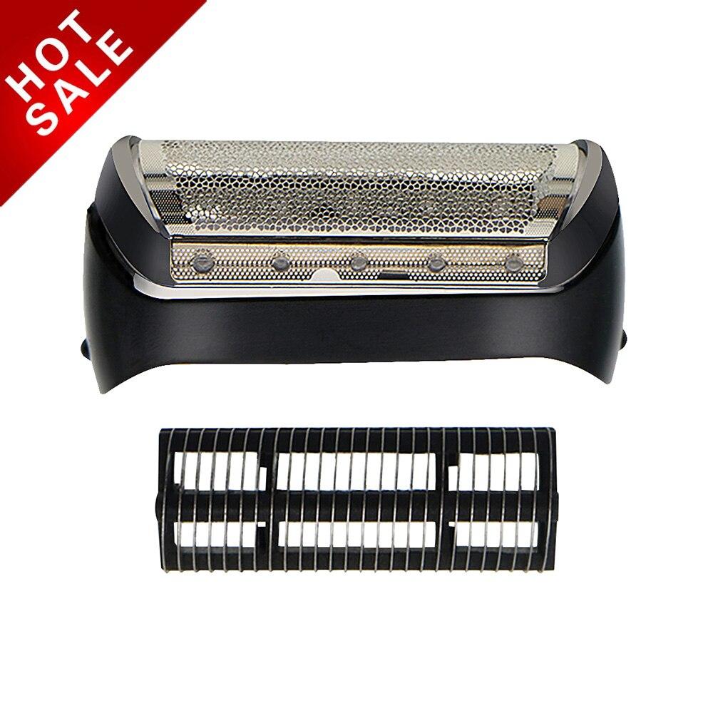 2pcs/set Free Shipping Shaver Foil & Cutter Head For BRAUN 10B 1000 Series 1 170 180 190 1715 1735 1775 Z20 Z30 Z40 Z50 2776