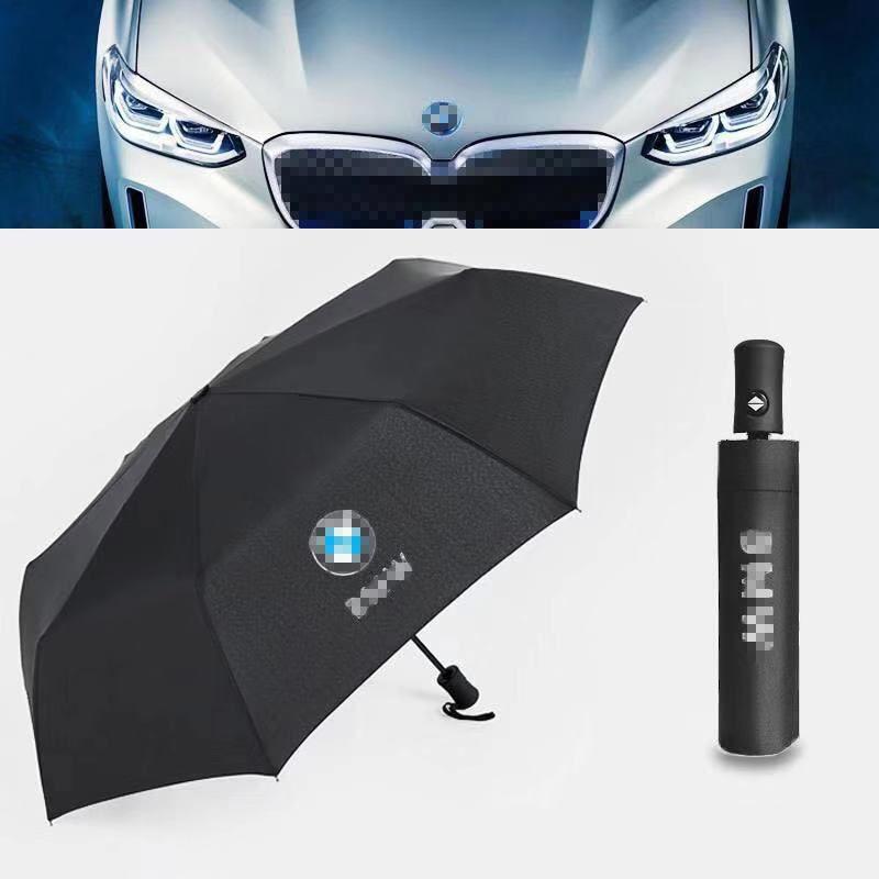For BMW Car Umbrella With Car Logo Umbrella Automatic Umbrella High Quality Gift Car Products