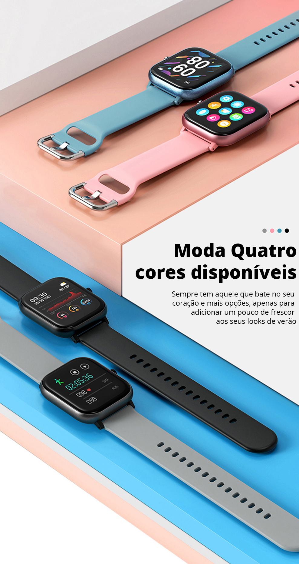H5993899c83d64ca08e15716c7690a7297 SQR P8 SE Smart Watch Men Women 1.4 Inch Fitness Tracker Full Touch Screen Ip67 Waterproof Heart Rate Monitor for iOS Android