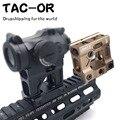 Универсальное крепление для прицела с ЧПУ, тактический прицел с красной точкой, Базовый адаптер для охоты, страйкбола, T1 / T-1 / T2 / T-2 / TARGET TR02