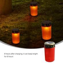 Túmulo criativo solar-powered eletrônico vela lâmpada festival festa decoração não contém nenhum soquete à terra
