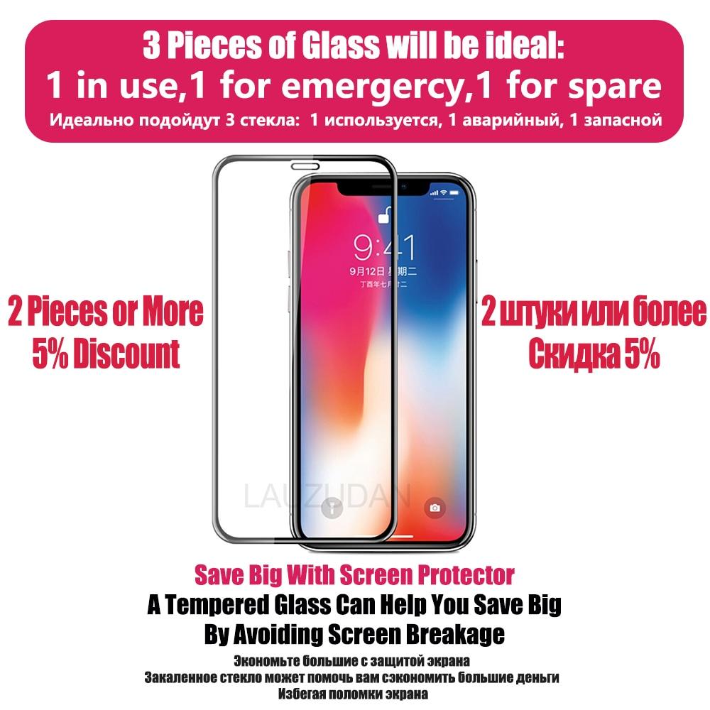 Vetro temperato protettivo per iPhone 11 12 Pro Max Glass iPhone XR X XS 7 8 6s Plus 12 Mini 5s SE 2020 vetro protettivo per schermo 2