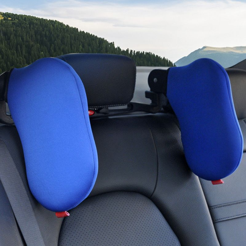 Car Travel Head Rest Can Be Any Rotation Vehicle Head Car Sleep Side Pillow Cross-Border Vehicle Neck Pillow image