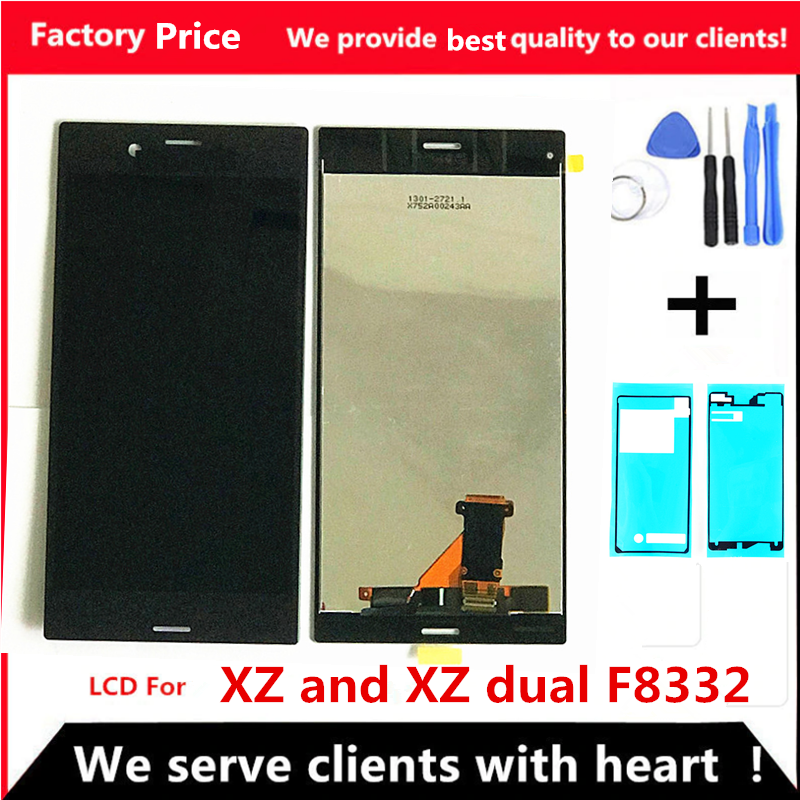 Original 5.2 Inch LCD For SONY Xperia XZ Display F8331 F8332 Touch Screen Digitizer Replacement Parts For SONY Xperia XZ Display