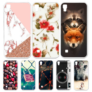 Image 1 - Case For LG X Power Cases Silicone Animal Flower Bumper For LG V30 K40 G7 X Power K220 K12 Plus Case Cover Fundas Coque v30 plus