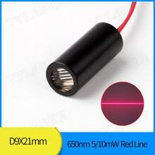 Лазерный модуль с красной линией 9 мм 650nm 5mw 10mw драйвер