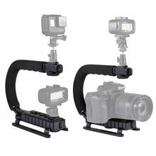 Portable Camera Handheld Hand Grip For Gopro Phone  Sport Action DSLR Camera Handler Accessories держатель clingo camera phone grip 07021 универсальный