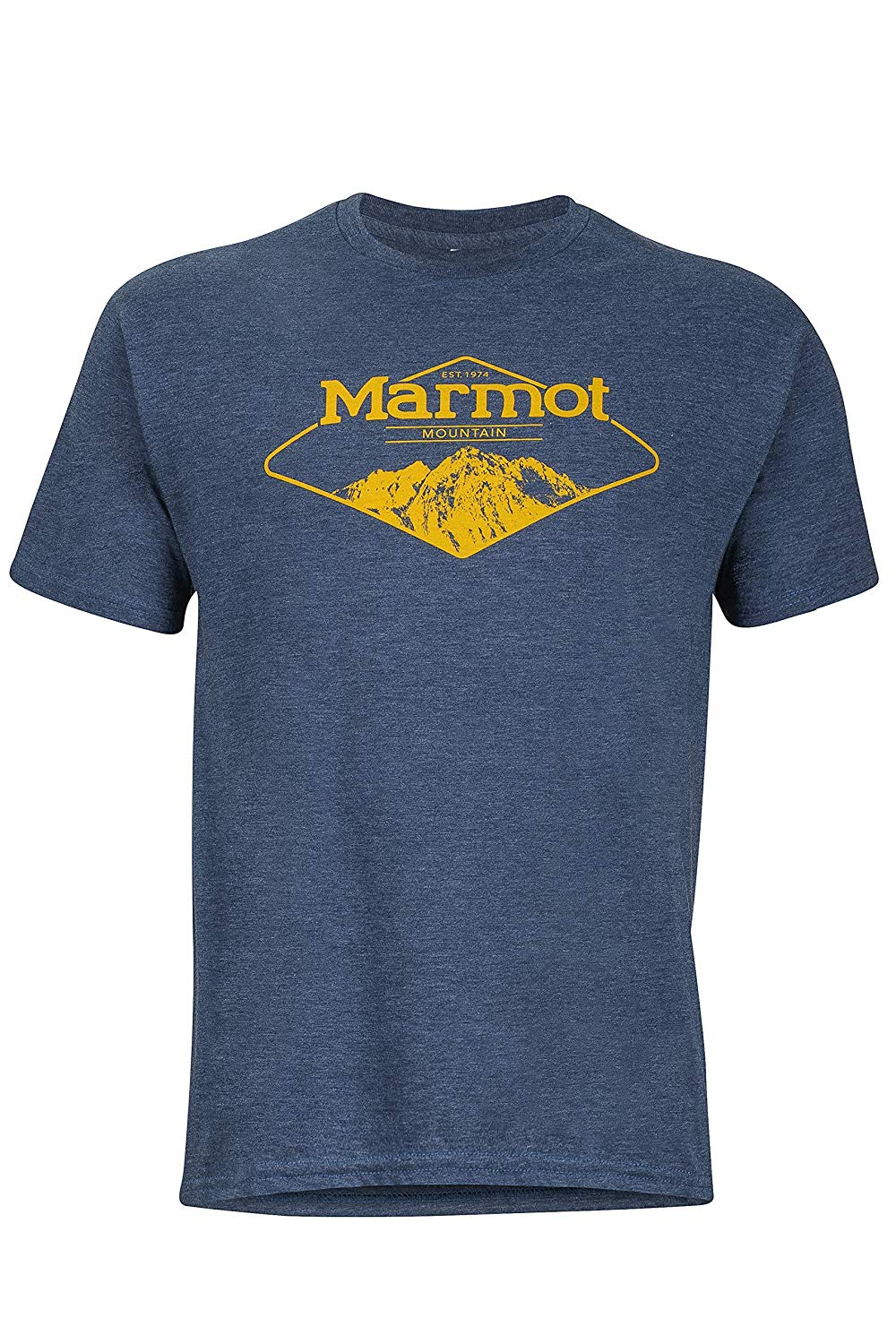 Marmot Short Sleeve Mountaineer Tee Street Wear Print Shirt Size S-3Xl