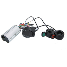 Mini yuvarlak elektrikli bisiklet Scooter denetleyici fren LCD ünitesi karbon Fiber Scooter Motor kontrolörü 24v 36v 48v 250w 350w