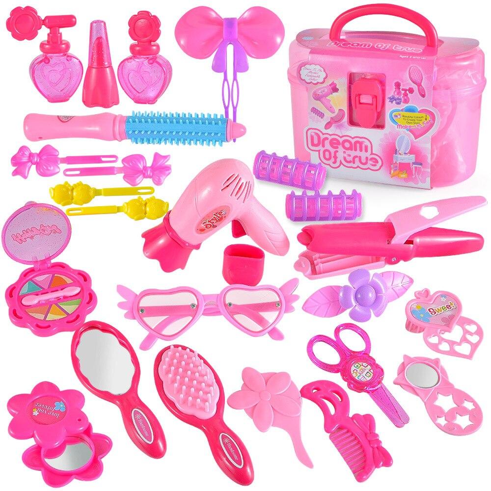 Pretend-Play-Kids-Makeup-Toys-Beauty-Handle-Box-Children-Make-Up-Set-Hairdressing-Simulation-Set-Dre (1)