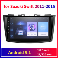 9 inch Android 9,1 Auto Multimedia für Suzuki Swift 2011 2012 2013 2014 2015 Auto Radio 2 Din GPS WiFi BT 2din