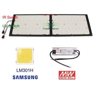 Image 2 - Kısılabilir ON/OFF anahtarı CREE XPE UV IR kuantum Samsung led lm301B kurulu 120W 240W QB288 Meanwell sürücüsü ile ışık büyümek