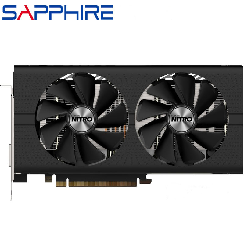 SAPPHIRE Video Graphics Card RX 570 With 8pin Power Connector for AMD RX 500 Series 1