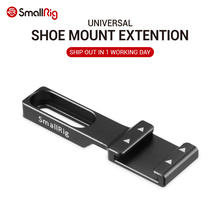 SmallRig Cold Shoe Mount Extension Adapter DSLR Camera Shoe Mount for Microphone, Flash Light and Camera Accessories 2044