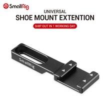 Smallrig sapata fria montagem adaptador de extensão dslr câmera sapata montagem para microfone, flash luz e câmera acessórios 2044