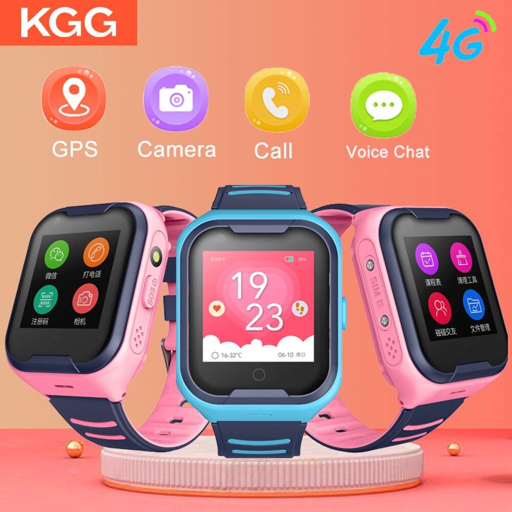 Crianças Relógio Inteligente Crianças 4G Wifi GPS Criança Rastreador SOS Telefone Do Relógio Digital de Alarme do Relógio Relógio Da Câmera Do Telefone para crianças PK Q90