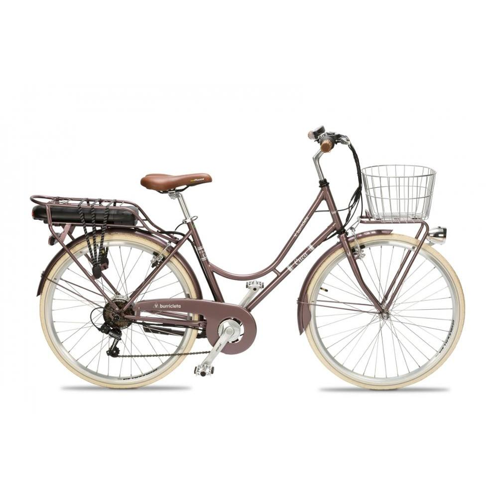 Elektrische fahrrad Burricleta Cuca Granat Made in Spanien