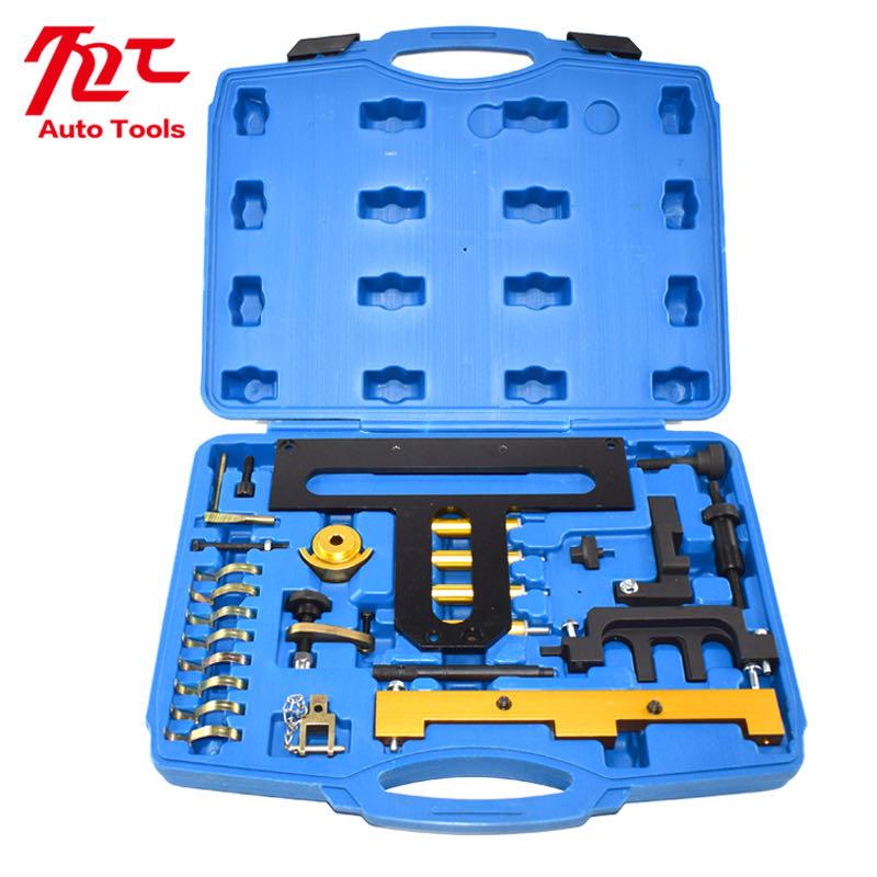 Купить с кэшбэком Changing Timing Chain Engine Tool Engine Camshafts Timing Locking Tool BMW N42 N46 N46T E87 E46 E60 E90