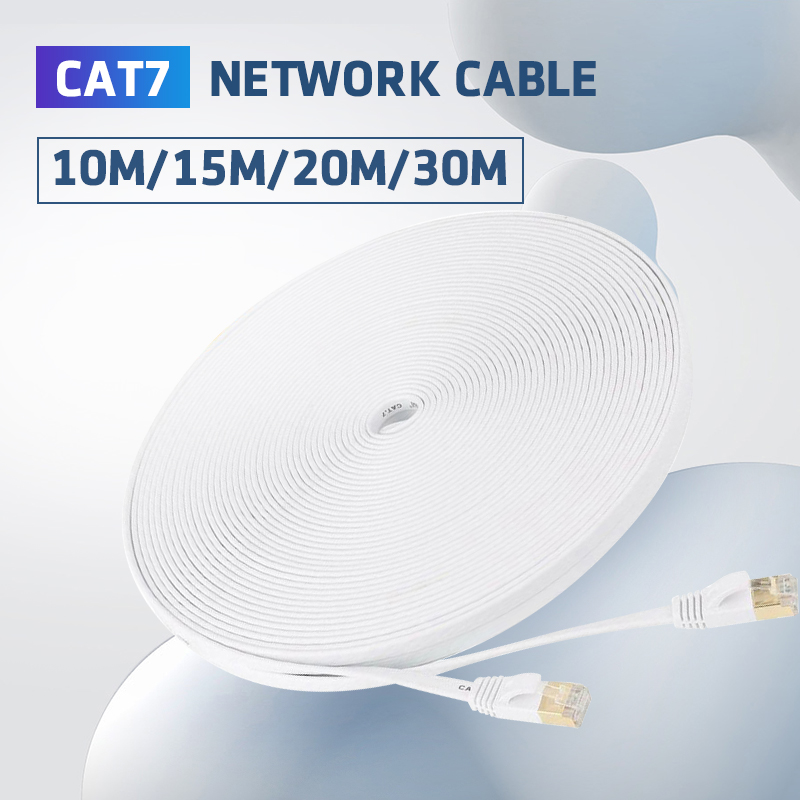 Network Cable CAT7 Ethernet Cable RJ45 Lan Network Cable High Speed Cat7 Patch Cord For PC