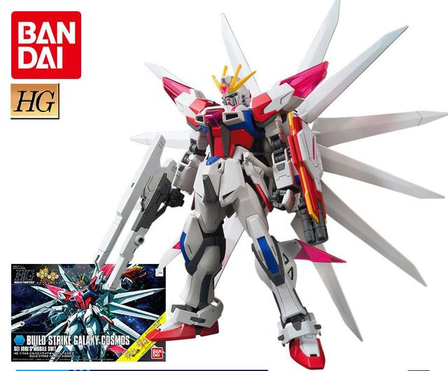 Gundam model HGBF 1/144 Gundam Ventures Create a powerful attack Galaxy cosmic spot | american doll