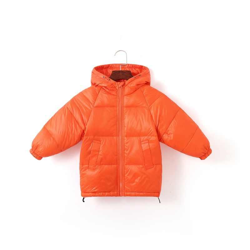 CROAL שרי ילדים בני חורף מעיל 90% ברווז למטה מעיל מעיילי בנות חורף מעיל למטה מעיל עבור ילדה ברדס הלבשה עליונה