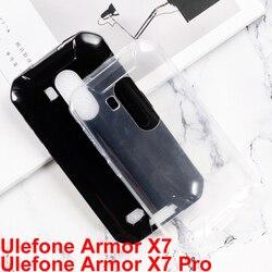 На Алиэкспресс купить стекло для смартфона silicone case for ulefone armor x7 ip68 cover anti-knock soft tpu back cover case on ulefone armor x7 pro glass phone shell case