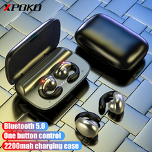 Bone Conduction Wireless Headphones Bluetooth 5.0 Earphone with 2200mA