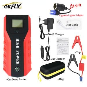 Image 5 - GKFLY arrancador de batería de coche, dispositivo de arranque de emergencia, 20000mAh, 12V, 1000A, Banco de energía, cargador de coche Diesel de gasolina, elevador de batería de coche