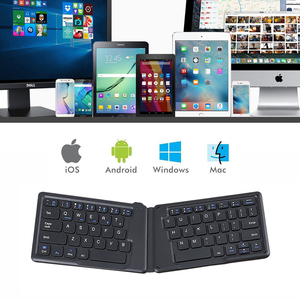 Image 2 - AVATTO A20 Portable Mini Folding Keyboard, Traval Bluetooth Foldable Wireless Keypad for iphone,Android phone,Tablet,ipad,PC