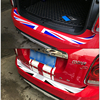 Car-Styling Union Jack Car Rear Bumper Decoration Sticker Trunk Load Edge Protection Decal For Mini Cooper R55 R56 R60 F55 F56 discount
