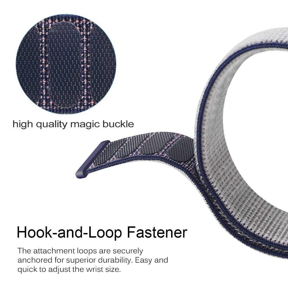 22 مللي متر النايلون الأشرطة ل هواوي ساعة GT2E 2E/GT/GT2 2 46 مللي متر الذكية حزام ساعة استبدال قماش أساور ل الشرف ماجيك Correa
