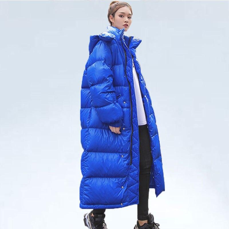 Long Blue Parka