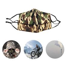 Buy Cycling Masks Dust Proof Mouth Face Mask Camouflage Cotton Men Women Fashion Winter Keep Warm Mask Outdoor Sport Dustproof Cover directly from merchant!
