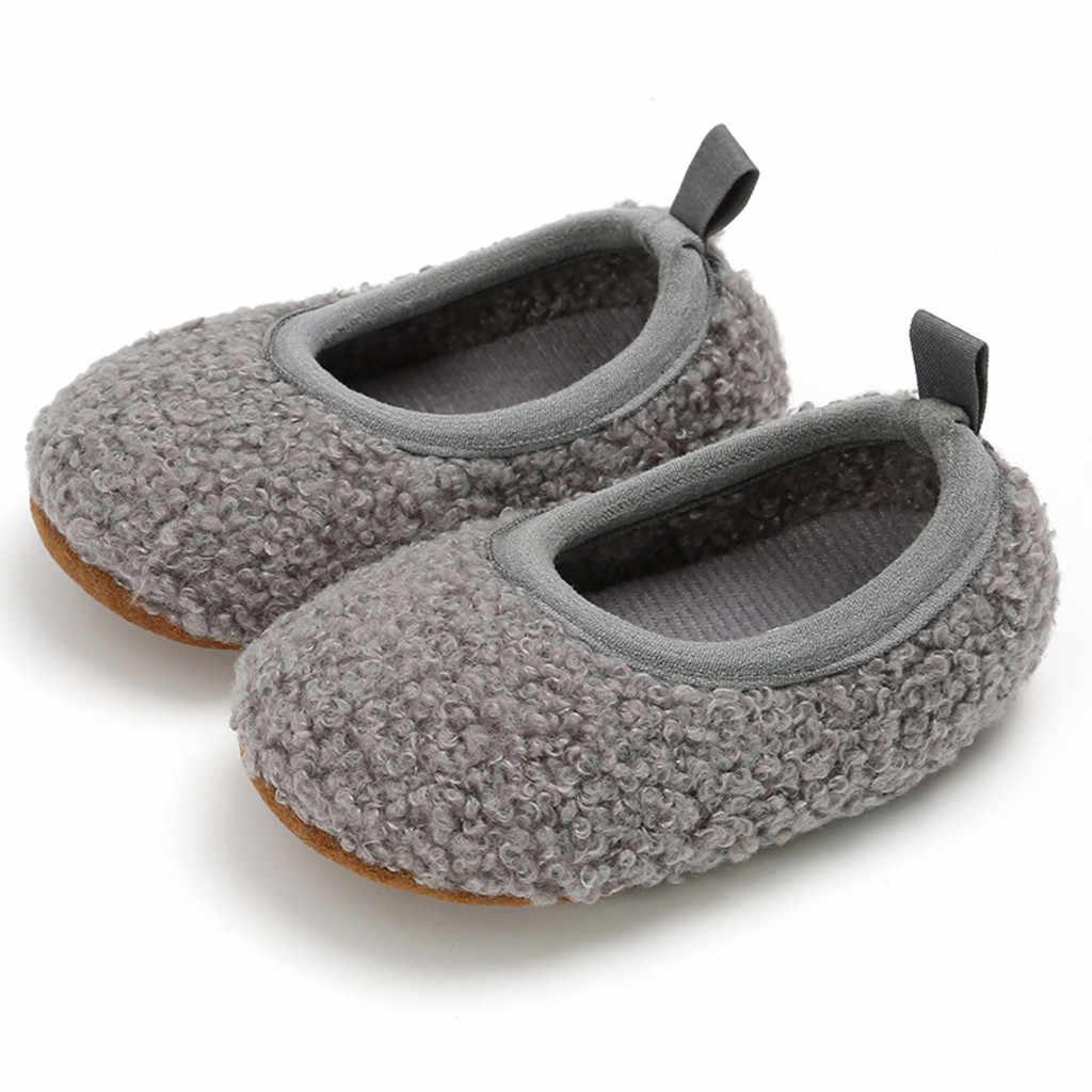 Детская обувь первые ходунки кроссовки с блестками противоскользящая мягкая подошва для малышей зимняя детская обувь Прямая поставка оптовая продажа