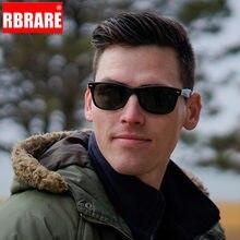 RBRARE – lunettes de Soleil polarisées pour hommes et femmes, classiques avec clous de riz, haute qualité, pour la conduite en plein air, UV400