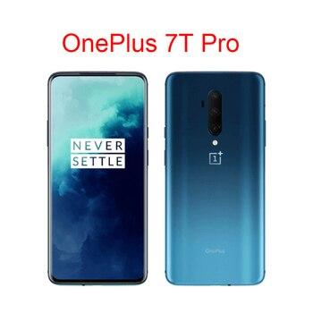 Перейти на Алиэкспресс и купить Мобильный телефон OnePlus 7T Pro, экран 6,67 дюйма, 8 ГБ/12 Гб ОЗУ, 256 Гб ПЗУ, Snapdragon 855 Plus Fluid AMOLED, 90 Гц, камера 48 МП
