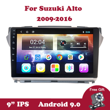 Android 9 Car GPS Navi For Suzuki Alto 2009 2010 2011-2016 DVD Car Radio Head Unit Multimedia Player support TPMS OBD2 DAB DVB android 9 0 car radio gps navi for peugeot 208