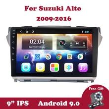 Android 9 Car GPS Navi For Suzuki Alto 2009 2010 2011-2016 DVD Car Radio Head Unit Multimedia Player support TPMS OBD2 DAB DVB
