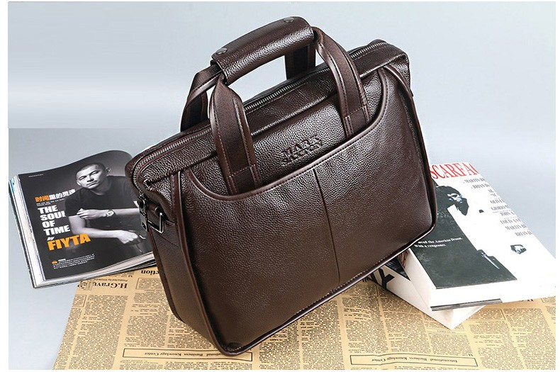 H5998318c989c4cdc8953051885249053c 2019 New Fashion cowhide male commercial briefcase /Real Leather vintage men's messenger bag/casual Natural Cowskin Business bag