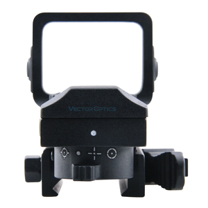 Image 4 - Vector Optics Sable 1x25x34 Tactical Multi Reticle Green Red Dot Sight with QD 20mm Weaver Mount For Dear Shooting Hunting
