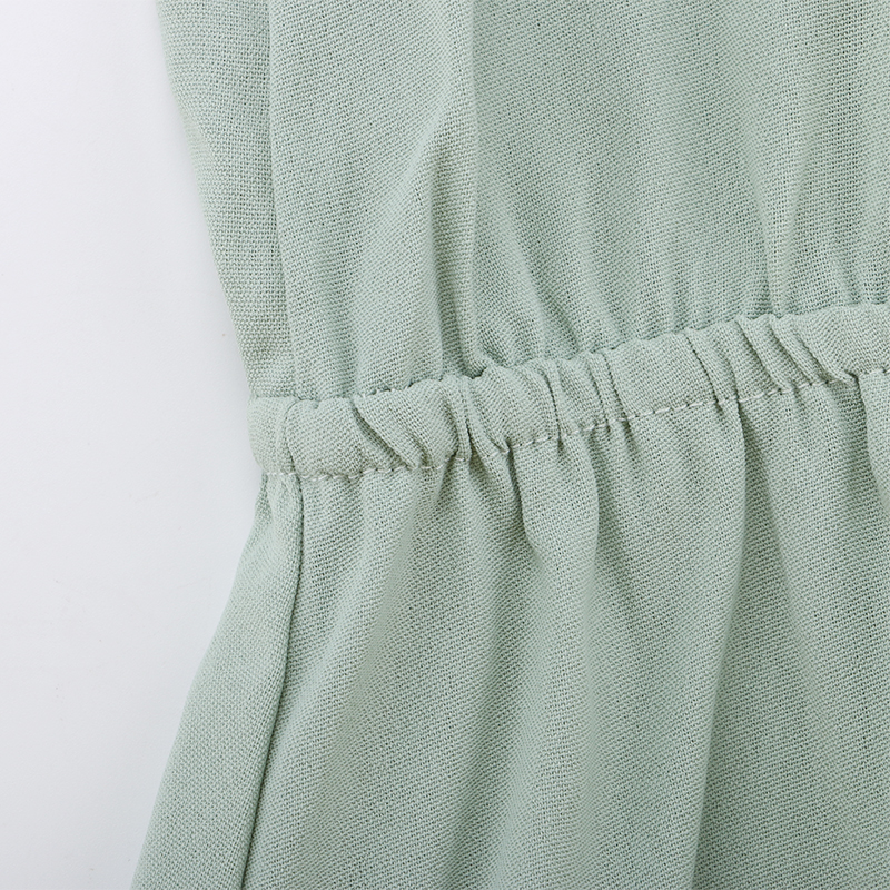 Ruffle Off Shoulder High Waist V Neck Casual Boho Beach Yellow Dress 28
