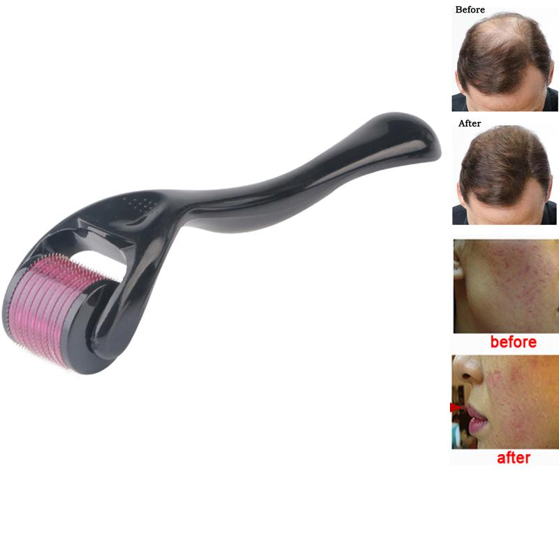 Mezoroller Derma roller DRS540 Micro Needle Face Skin Care Hair Regrowth Beard Growth Anti Hair Loss Treatment Thinning Receding