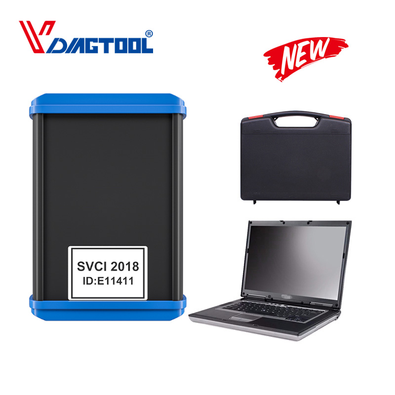 Vdiagtool SVCI 2018 version ABRITES Commander FVDI 2018 Diagnostic Tool Add VVDI2 Function With D630 Easy