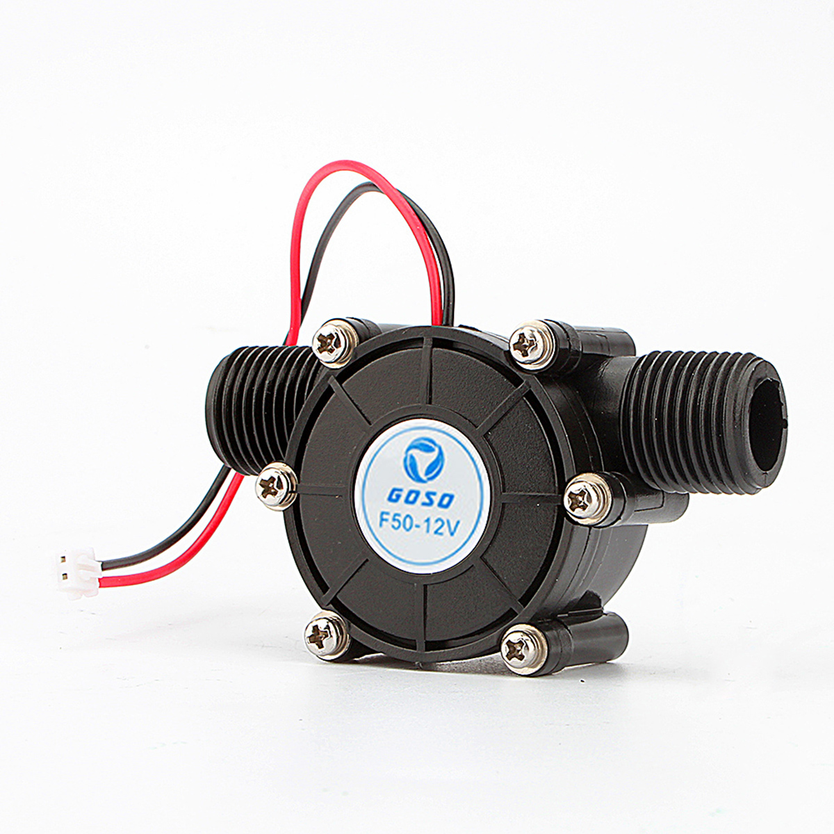 gerador de agua micro hidro gerador de turbina de agua dc 12v dc 10w tipo tubulacao