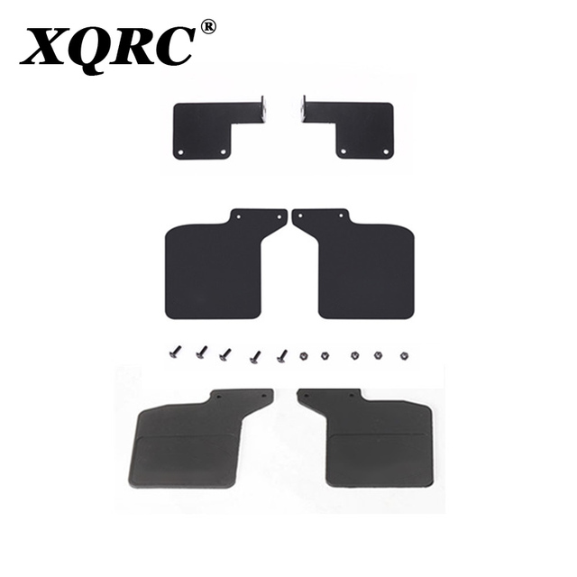 XQRC مصدات مطاطية ل 1 / 10rc trx4 المدافع حامل معدني trx-4 لاند روفر الجناح نموذج ترقية أجزاء